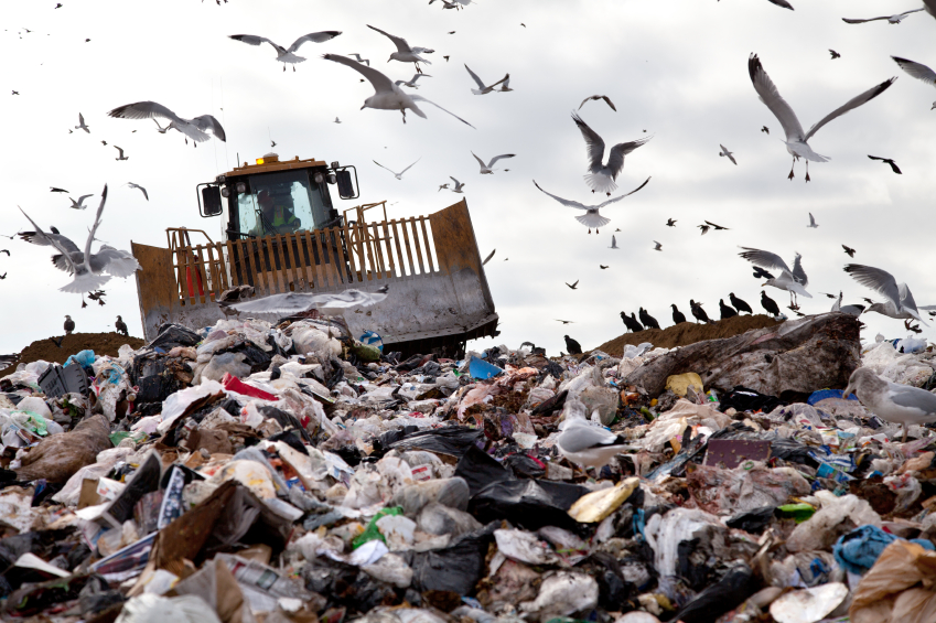 Waste Energy Plant To Replace Standard Waste Landfill Management - iStockPhoto