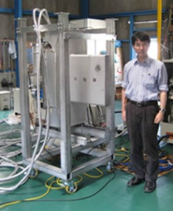 Japan Fusion Muon Catalyzed High Pressure Apparatus