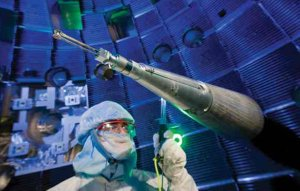 National Ignition Facility firing chamber targeting system