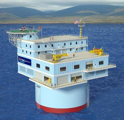 Solar Power Alternative Energy O'ahu offshore plant design
