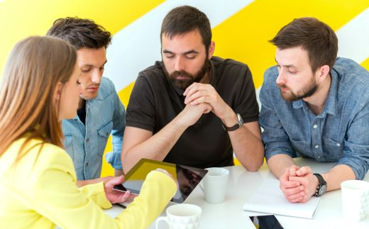 Talk And Community Small To Larger Group