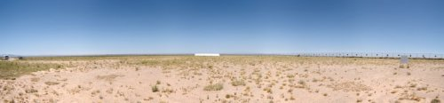 Atom Bomb Test Area at White  Sands New Mexico - iStockPhoto
