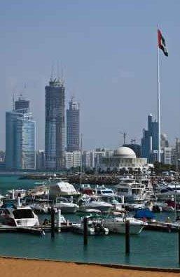 Hydrogen Power Abu Dhabi With City Skyline Shown - iStockPhoto
