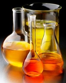 Biofuel Types In Flasks - iStockPhoto