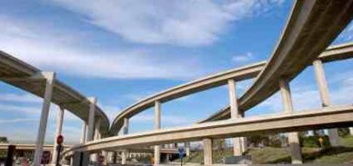 Bridges In A Freeway Interchange - iStockPhoto