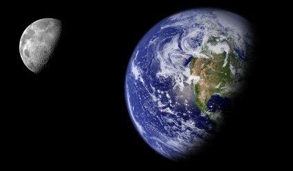 Gaia Principle Earth seem from space
