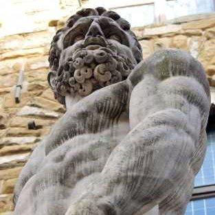 Zeus sculpture in Florence - iStock Photo