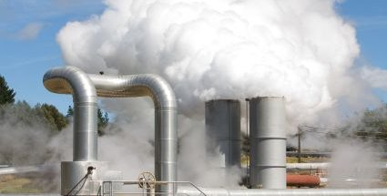 Geothermal Energy Power Plant Steam Outlets - iStockPhoto