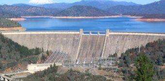 Mt Shasta Hydroelectric Dam - iStockPhoto