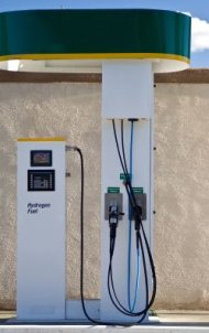 Hydrogen Cars require a hydrogen filling station - iStockPhoto