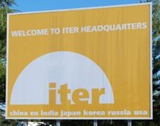 International Thermonuclear Experimental Reactor Sign On Site