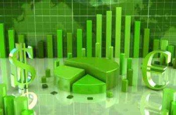 Alternative Energy Stocks Green Energy Chart Idea - iStockPhoto