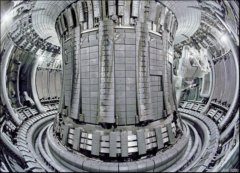 Remote Handling Arm on Right Side JET Tokamak Assembly