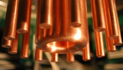 Closeup Of Anode Cathode Array in Lawrenceville Plasma Physics Research