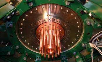 Lawrenceville Plasma Physics cathode and anode array