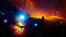 Fusion Glossary With Plasma In Alnitak Orion Nebula - iStockPhoto
