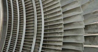 Nuclear Reactor Turbine Detail - iStockPhoto
