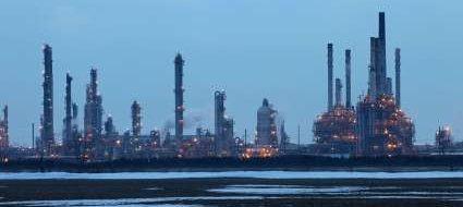 Oil Refinery - iStockPhoto