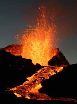 Greenhouse Effect Increased With Volcanic Gases - iStockPhoto