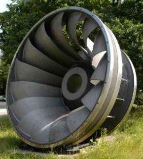 Water Wheels Developed Into Water Turbines - iStockPhoto