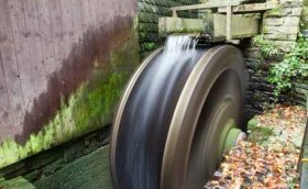 Water Wheels Are Turned In Different Ways - iStockPhoto