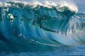 Wave Energy In Giant Early Wave Hawaii - iStockPhoto