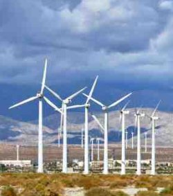 Group of Wind Turbines - iStockPhoto