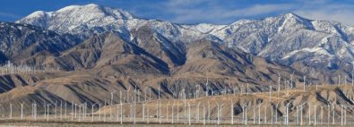 Wind Turbines Palm Springs - iStockPhoto
