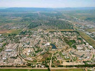 National Ignition Facility In Lawrence Livermore National Laboratories Grounds