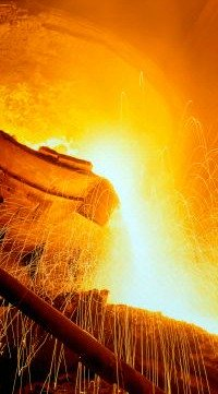 Steel Pouring - from iStockPhoto